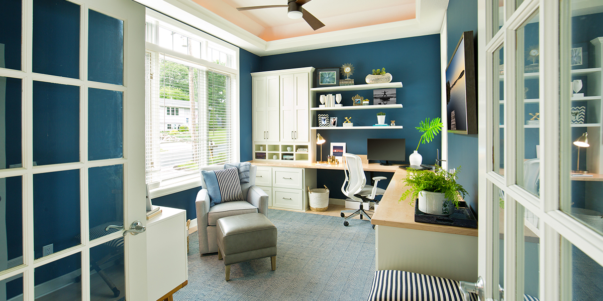 Work It | Short Commutes Inspire Long-On-Style Home Offices